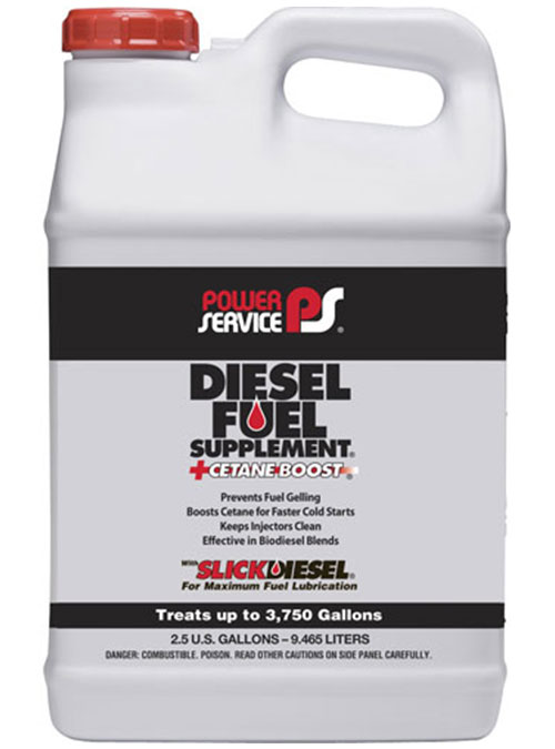 Tanica di additivo Diesel Fuel Supplement di Power Service per prevenire il congelamento del carburante