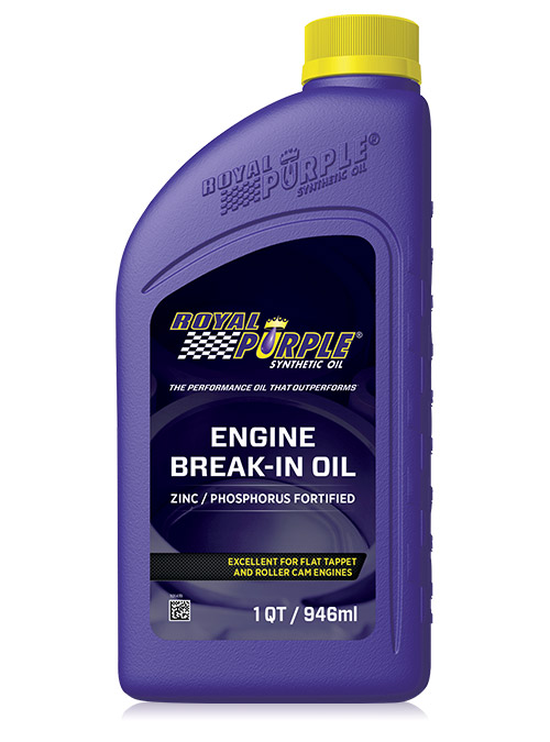 Olio motore per autovetture Engine Break-In Oil di Royal Purple con zinco e fosforo