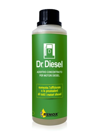Bottiglia di additivo concentrato per auto a gasolio Dr. Diesel 120 ml