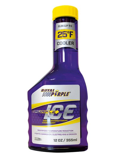 Bottiglia di liquido refrigerante Purple Ice di Royal Purple