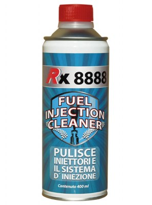 Additivo RX 8888 Fuel Injection Cleaner 0,400 ml per la pulizia di iniettori e sistema di iniezione