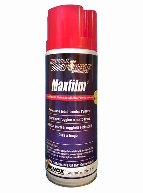 Lubrificante spray sintetico polifunzionale Royal Purple MaxFilm da 300 ml